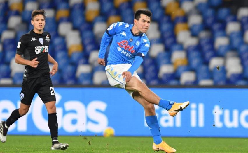 """El """"Chucky"""" Lozano marca golazo en la Copa de Italia Real Madrid"""
