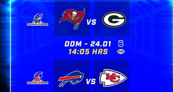 Listas las Finales de Conferencia 2021 Super Bowl LV