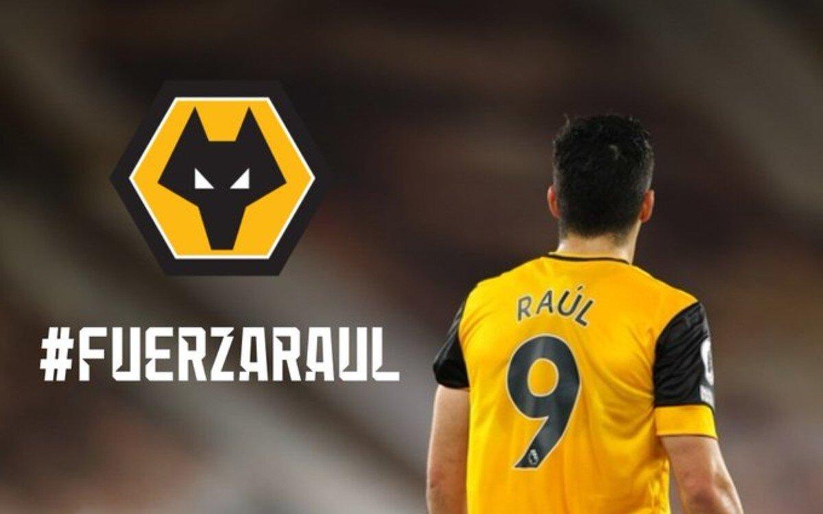 Raúl Jiménez está de vuelta con los Wolves tras lesión en el cráneo