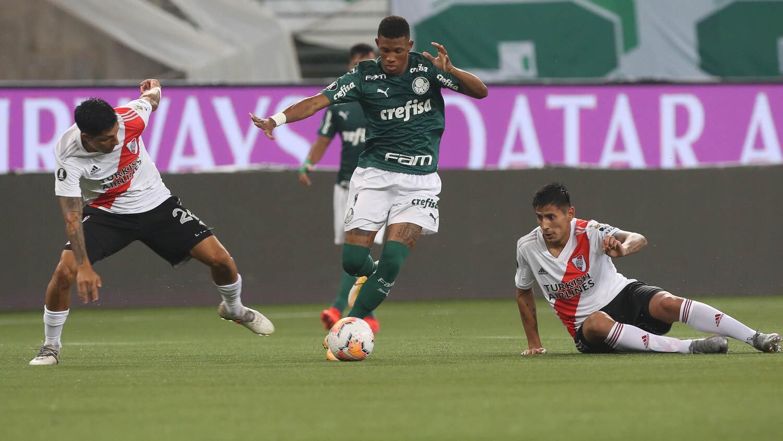 Santos contra Palmeiras, Final de la Copa Libertadores 2021