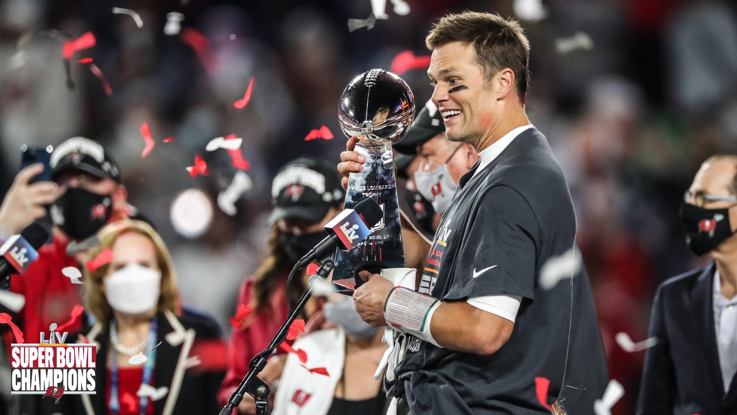 Tampa, de la mano de Brady, se llevan el Super Bowl LV