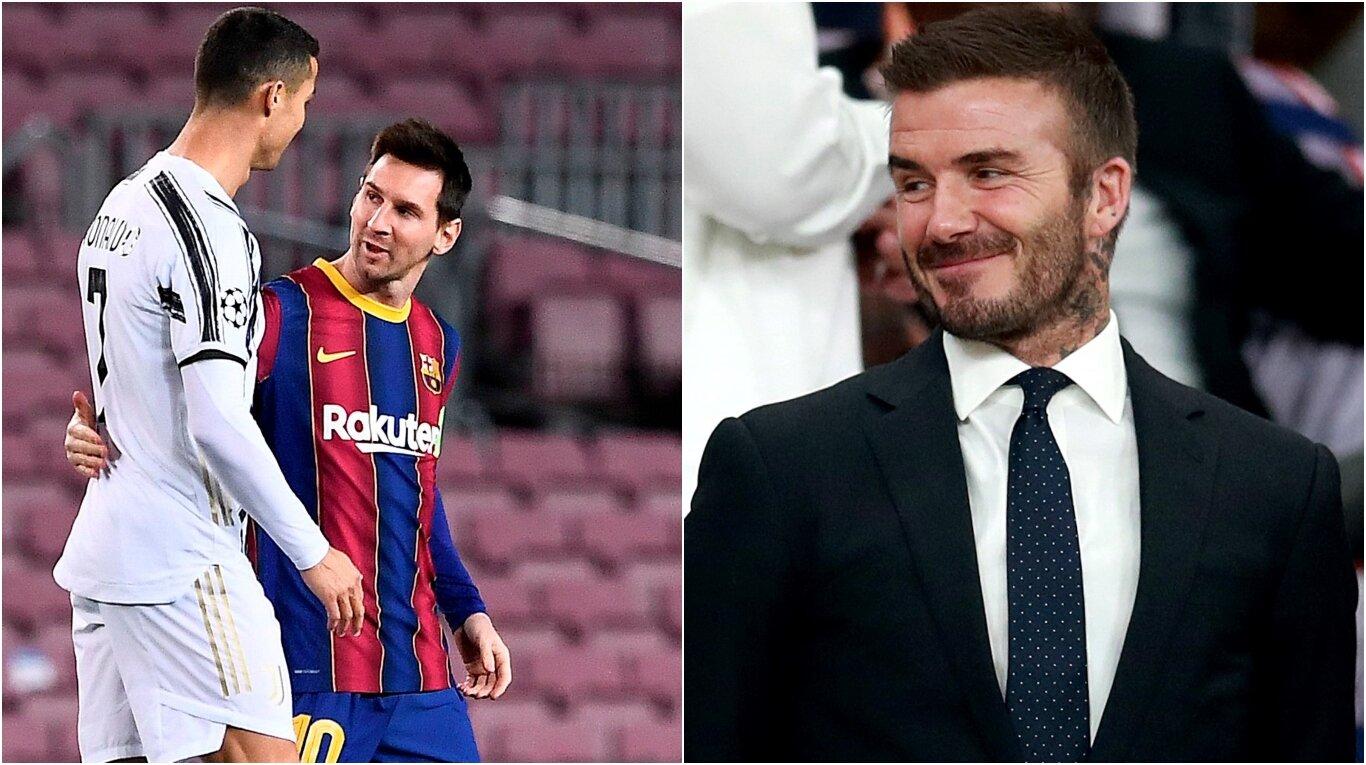 David Beckham quiere juntar a CR7 y Messi ensu equipo: El Inter Miami