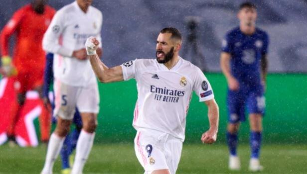Real Madrid y Chelsea empatan 1-1 en la liga de campeones